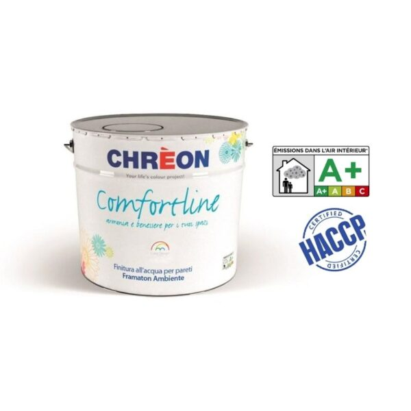 Comfort Line Chrèon: Smalto murale supercoprente - idropittura - pittura all'acqua