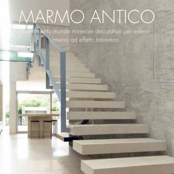 ambiente creato con marmo antico decorativi sanmarco