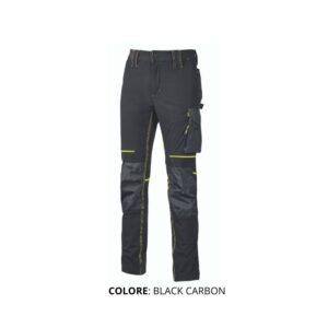 pantaloni U-POWER colore: BLACK CARBON