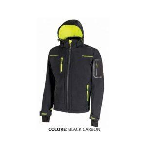 Giacca U-POWER colore BLACK CARBON