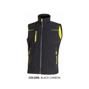 Gilet U-POWER colore BLACK CARBON