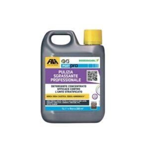 pulizia sgrassante professionale: detergente concentrato