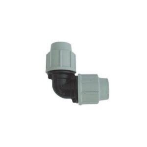 Gomito a 90° PLASSON ideale per flluidi in pressione.