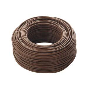 cordina antifiamma marrone - cavo elettrico unipolare