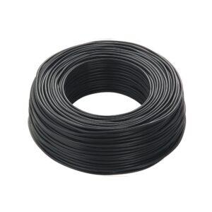 cordina antifiamma nero - cavo elettrico unipolare