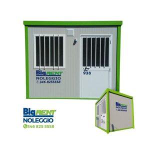 Container per uso edile - box ufficio