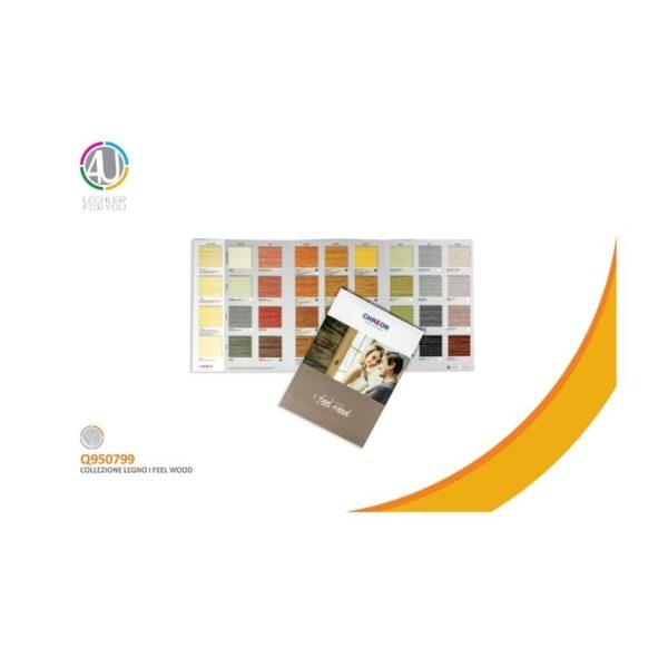 cartella colori legno chreon