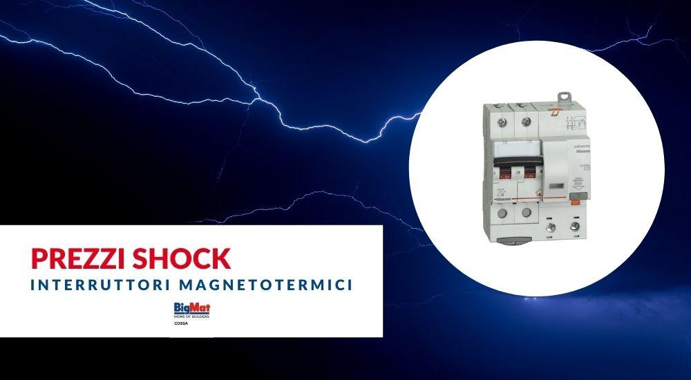 Interruttori differenziale magnetotermico BTICINO