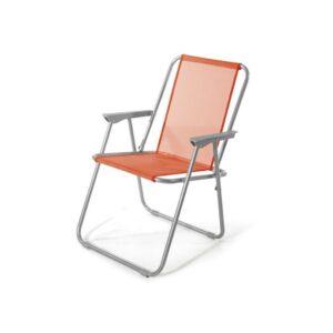 sedia lanzarore arancio - arredo giardino - bigmat cossa