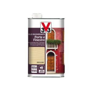olio rigenerante - manutenzione porte e finestre - restauro legno - v33