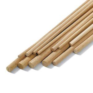 bastoni tondi faggio zigrinati susa bigmat - legno bigmat cossa