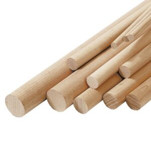 bastoni tondi faggio susa bigmat - legname fai da te bigmat cossa