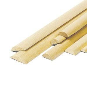 listelli messo tondi in legno susa
